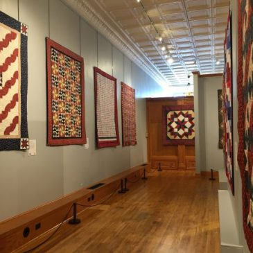 In July at the Iowa Quilt Museum…