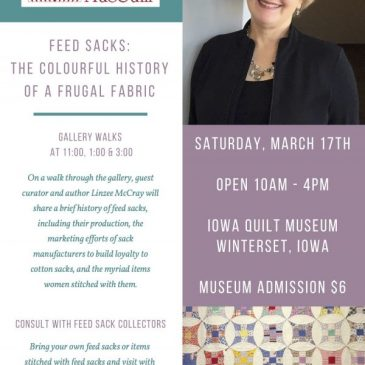 Events at the IQM & Iowa QuiltScape!